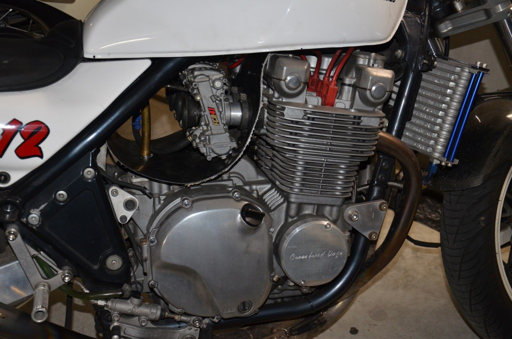 くまZEPHYR1100エンジン