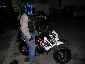 KSR1100 with くま